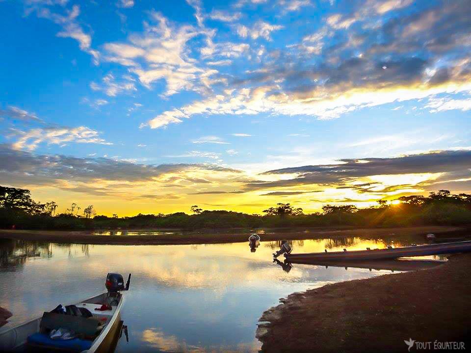 lac coucher de soleil - photo #15