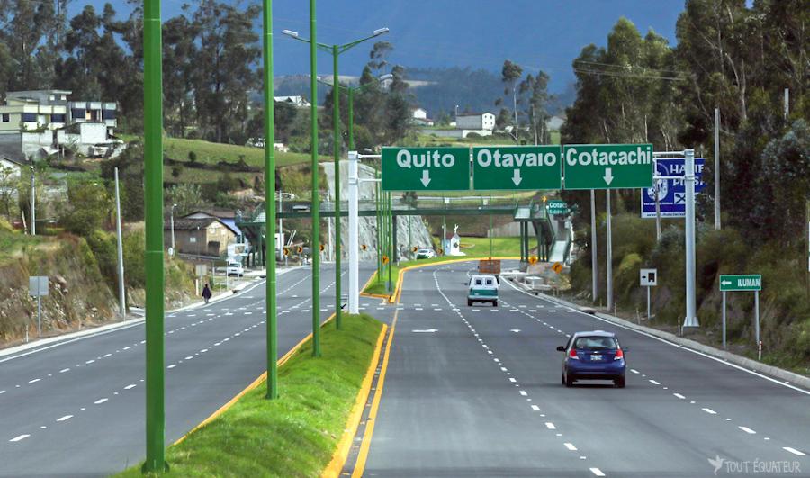 Routes  en Equateur