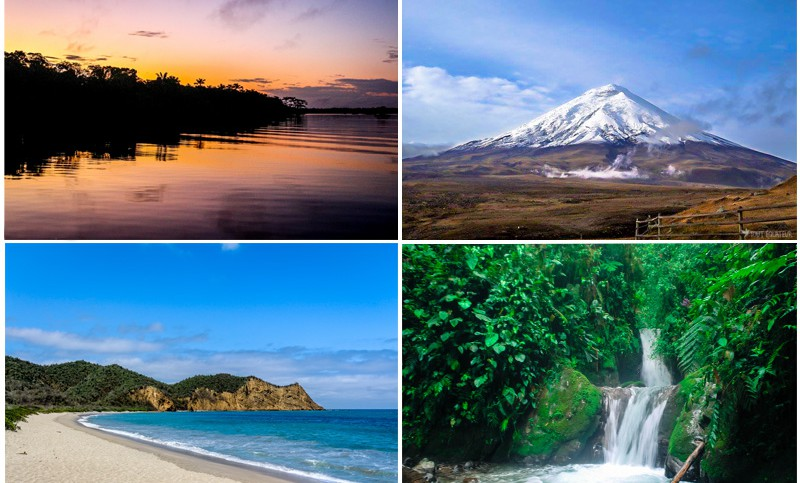 photo paysage équateur
