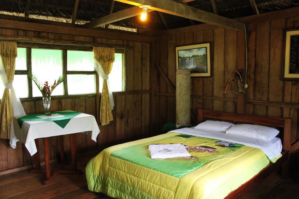 Chambre au Suchipakari EcoLodge ambiance nature