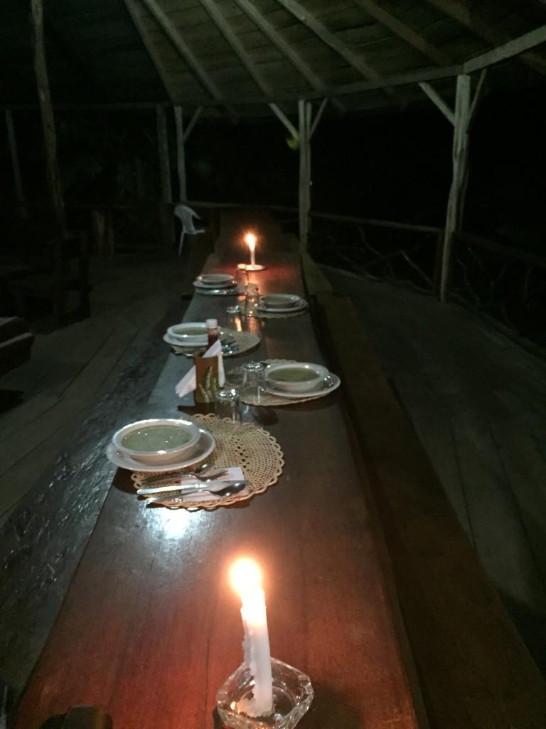 20170506 0947 Puerto Misahualli - Soirée au Lodge