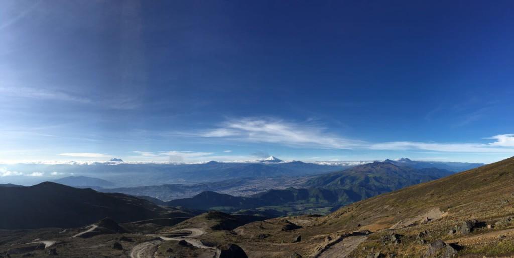 Au loin la Colombie