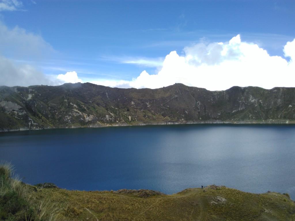 Mélanie Thiess - Lagune de Quilotoa