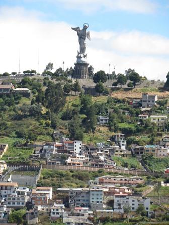 Quito - Laurence et Patrice