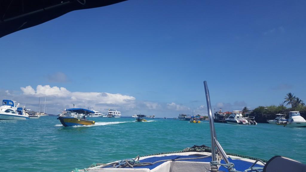 bateau taxi puerto ayora