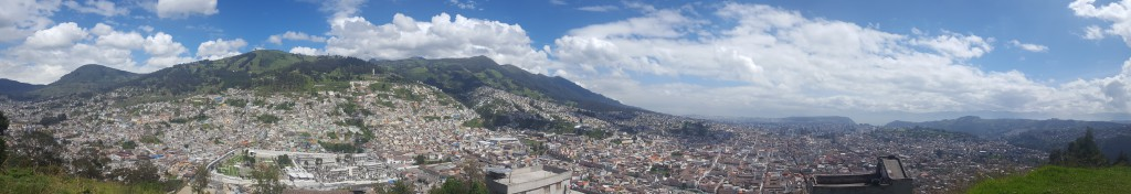 vista panoramique quito